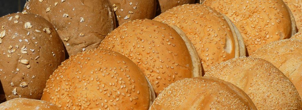 Pan para preparar hamburguesa americana