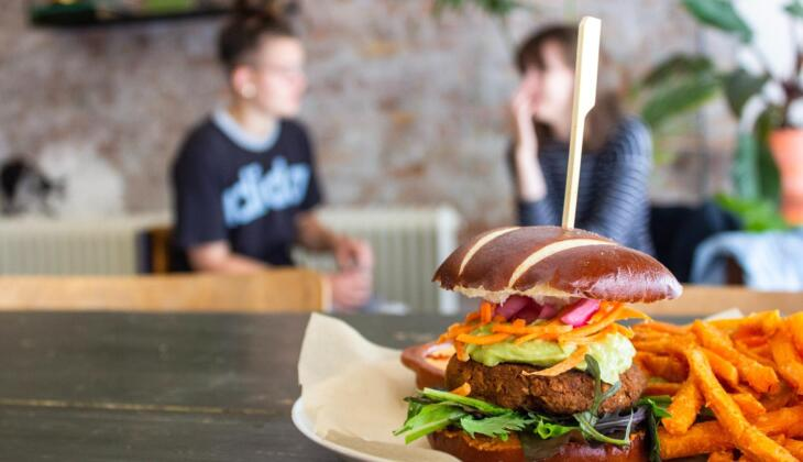 la hamburguesa vegana más sana del mundo